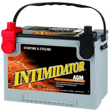9A78DT - аккумулятор Deka Intimidator AGM, емкость 75 А·ч