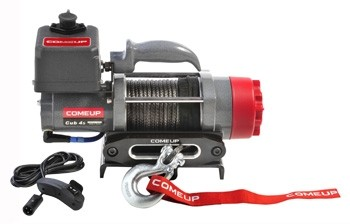 ComeUp Cub 4s Carry On электрическая переносная лебедка 12V 1.8т (кевларовый трос)