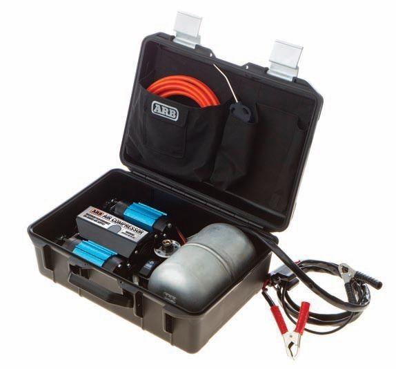 ARB компрессорная пневмосистема максимальной производительности в кейсе