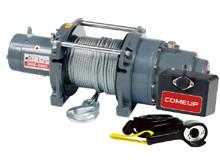 Электрическая лебедка ComeUp DHC - 2000, 24V, 0.9т (усиленная, для подъема грузов)