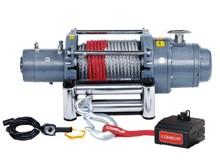 ComeUp DV-15 электрическая лебедка 12V 6.8т (стальной трос)