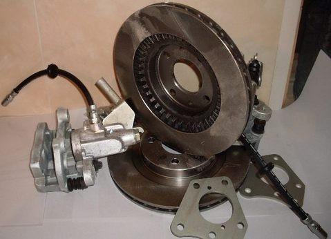 Дисковые тормоза задние Lada 4x4 Нива