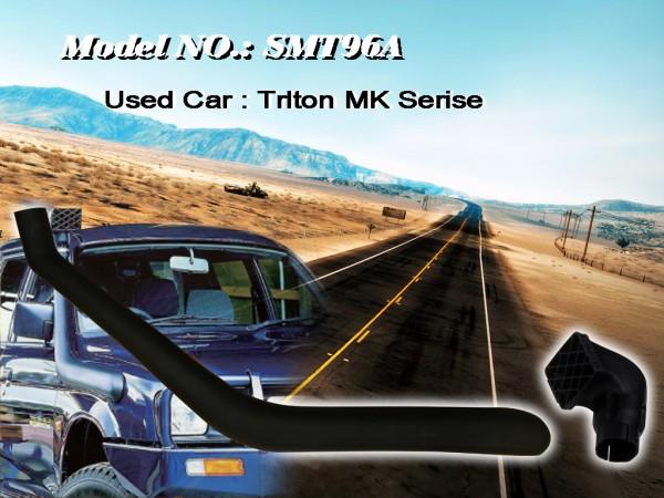 Шноркель SMT96A для Mitsubishi Pajero Sport (Сhelenger) MК series L200 (4M40-T 2.8л-I4 дизель/4M40 2.8л-I4 дизель)