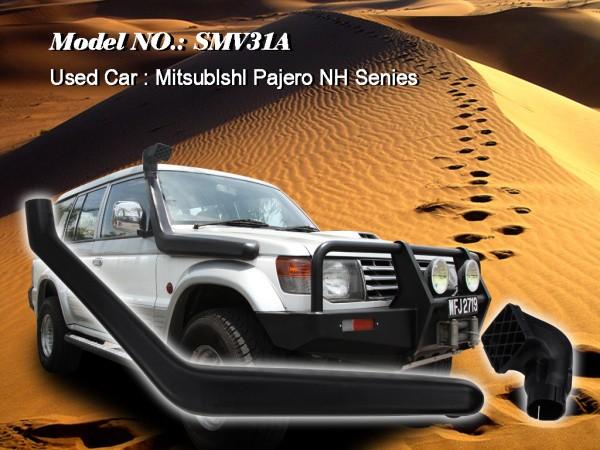 Шноркель SMV31A для Mitsubishi Pajero-2 NH V31,V32,V33 (бензин 6G72 3.0л-V6/дизель 4D56-T 2.5л-I4)