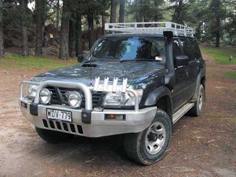 Шноркель SNY61C для Nissan Patrol/Safari Y61 (09/2004 - и далее/дизель TD42-T 4.2л-I6/дизель ZD30DDTI 3.0л-I4)