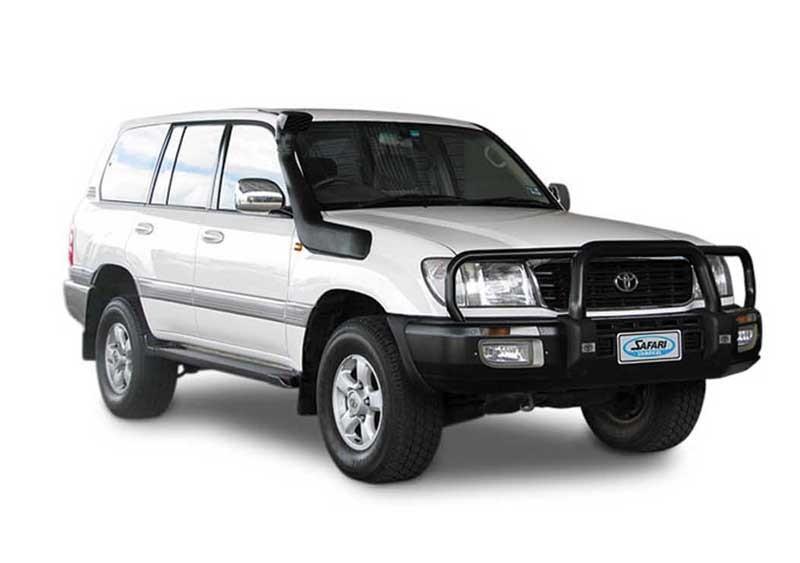 Шноркель ST100NA для Toyota Land Cruiser 100/Lexus LX470 (длинный) (бензин 1FZ-FE 4.5л-I6/бензин 2UZFE V8 4.7Letre-V8дизель IHZ 4.2л-I6/дизель IHD-FTE 4.2л-I6)