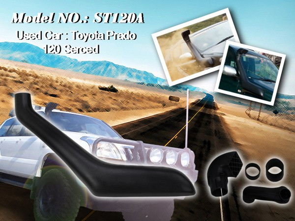Шноркель ST120A для Toyota Land Cruiser Prado 120 (1GR-FE 4.0л-V6)