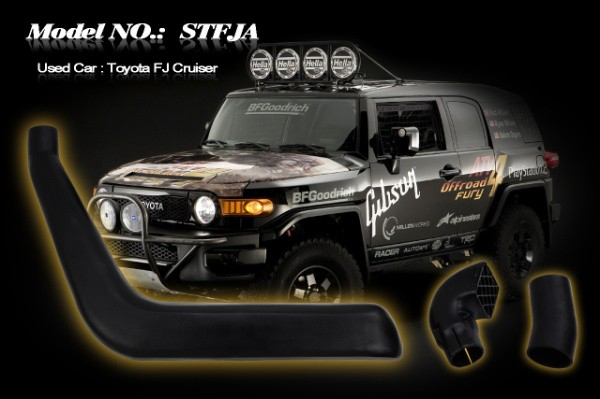Шноркель STFJA для Toyota FJ-Cruiser (1GR-FE 4.0л-V6 бензин)