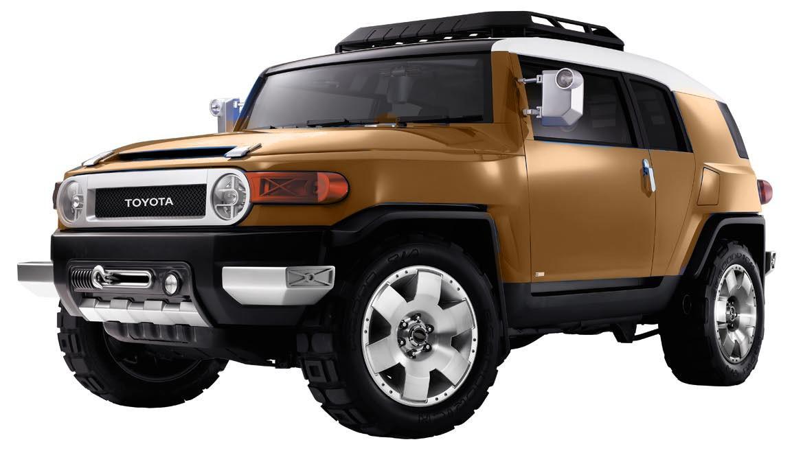 Tough Dog усиленная подвеска на Toyota FJ Cruiser