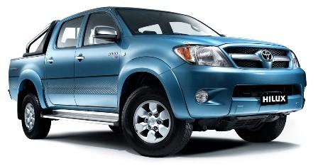 Tough Dog усиленная подвеска на Toyota Hilux с передней независимой подвеской (IFS), пружины/рессоры