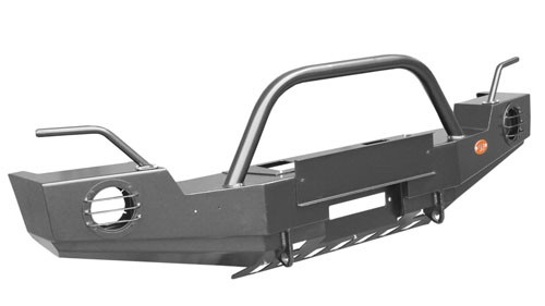 OJeep 02.206.03 передний силовой бампер с площадкой лебёдки на Jeep Wrangler JK