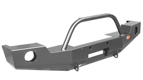 OJeep 02.206.01 передний силовой бампер с площадкой лебёдки на Jeep Wrangler JK