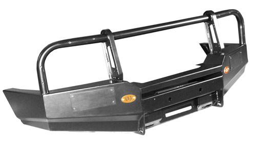 OJeep 02.002.01 передний силовой бампер с площадкой лебёдки на Mitsubishi Pajero Sport I