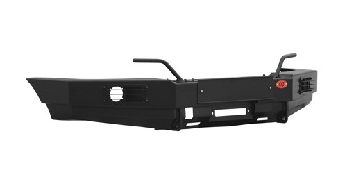 Ojeep 02.003.07 передний силовой бампер с площадкой лебёдки на УАЗ Patriot