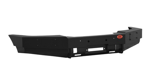 Ojeep 02.003.11 передний силовой бампер с площадкой лебёдки на УАЗ Patriot