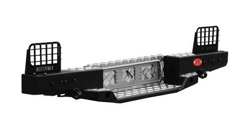 Ojeep 03.112.01 задний силовой бампер на Land Rover Defender