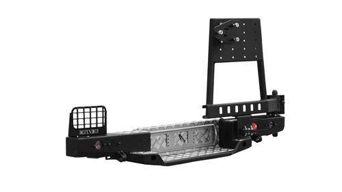 Ojeep 03.112.02 задний силовой бампер с калиткой на Land Rover Defender