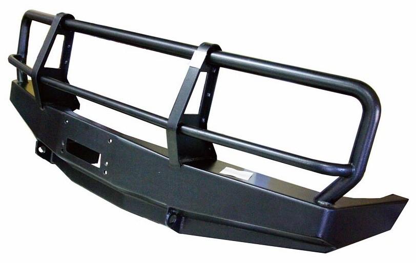 Силовой бампер на Toyota Land Cruiser 80 передний под лебедку