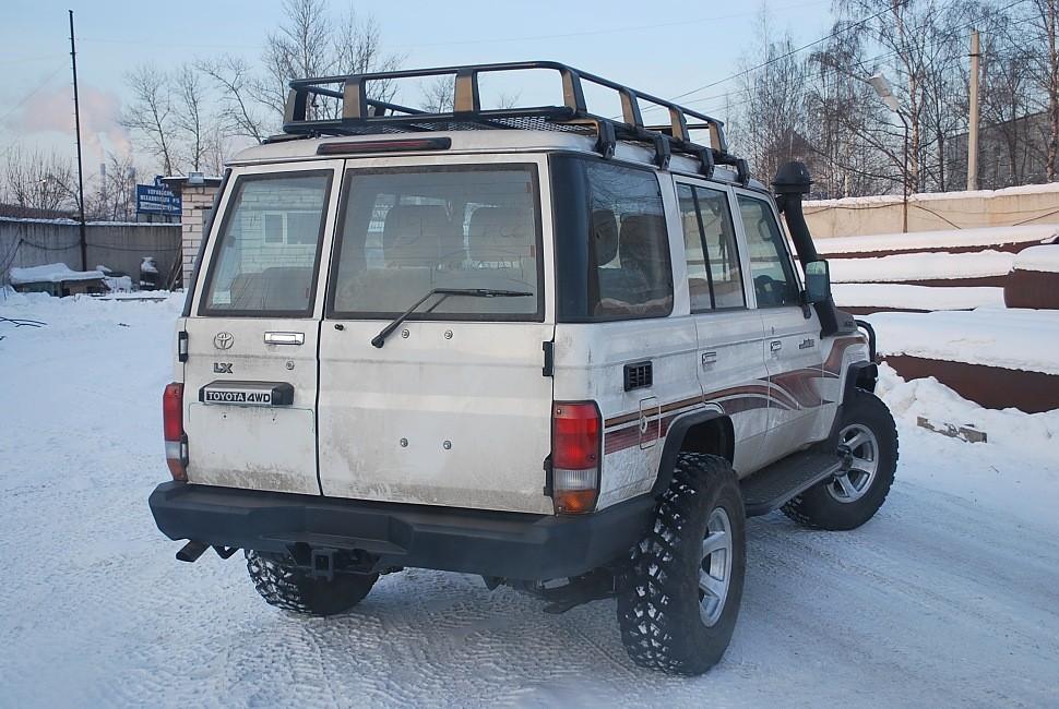 Тамерлан силовой бампер на Toyota Land Cruiser 76 задний