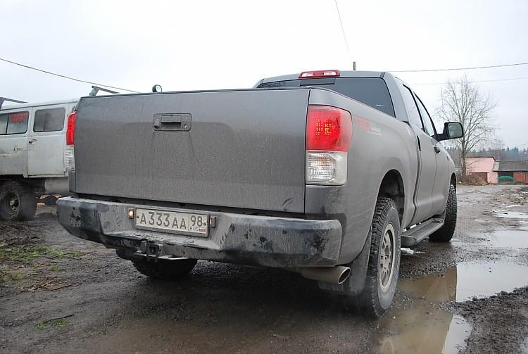 Тамерлан силовой бампер на Toyota Tundra задний