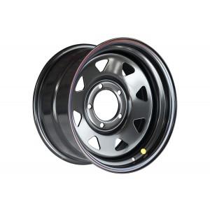 Диск Toyota Land Cruiser 100/105 стальной черный 5x150 8xR16 d113 ET0 (треуг. мелкий)