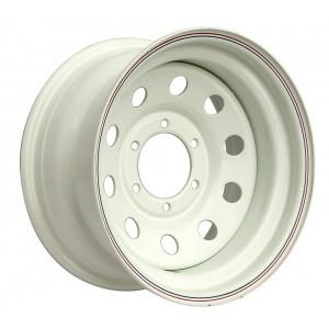 Диск усиленный Nissan Navara D40 2.5TD стальной белый 6x114,3 8xR16 d66 ET-0