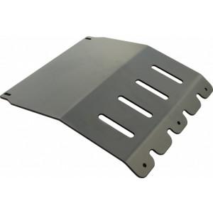 РИФ защита радиатора L200 NEW под бампер РИФ(алюм)
