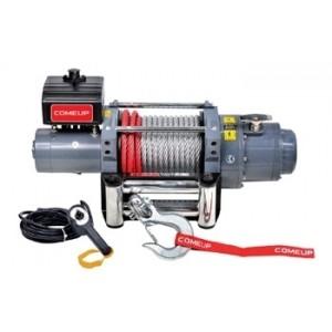 ComeUp DV-18 электрическая лебедка 24V 8.2т (стальной трос)