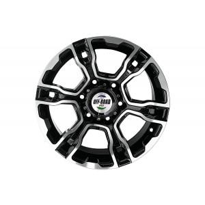 Диск Toyota / Nissan литой черный 6x139,7 8xR16 d110 ET-10