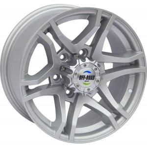 Диск Toyota / Nissan литой серебристый 6x139,7 8xR16 d110 ET+13
