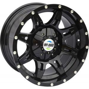 Диск Nissan Navara D40 литой черный 6x114,3 9xR17 d66,1 ET-12
