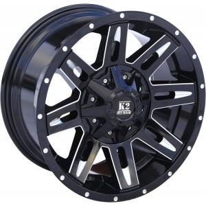Диск УАЗ литой черный 5x139,7 9xR18 d110 ET-12