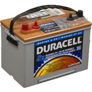 Duracell AGM34M аккумулятор гелевый, полярность прямая, 55 А·ч