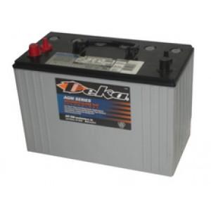 Deka аккумулятор гелевый, полярность прямая, 105 А·ч
