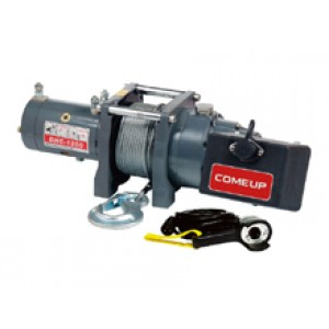 Электрическая лебедка ComeUp DHC - 1200, 24V, 0.5т (усиленная, для подъема грузов)