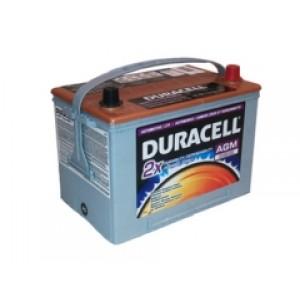 Duracell AGM34R аккумулятор гелевый, полярность обратная, 75 А·ч