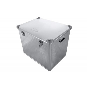 РИФ E782585622 ящик алюминиевый усиленный с замком 782х585х622 мм (ДхШхВ)