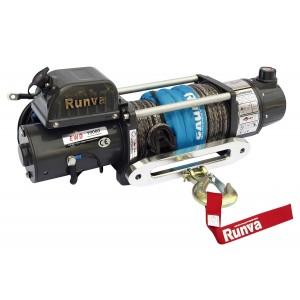 Runva EWD10000USR электрическая двухскоростная лебедка 12V 4500 кг (с кевларом)