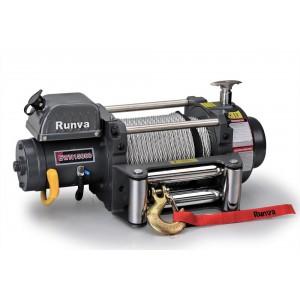Runva EWN15000U электрическая индустриальная лебедка 12V 6800 кг