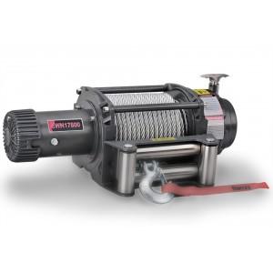 Runva EWN17500U электрическая индустриальная лебедка 12V 7960 кг