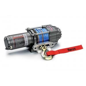 Runva EWT3500ASR электрическая лебедка 12V 1588 кг (кевлар)