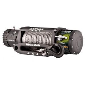 Ironman WWB 9500SR Monster Winch электрическая лебёдка 12V 4.3т  (кевларовый трос, радиопульт, влагозащищенная)