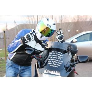 Спойлер для мотоцикла Mad Roads Type F