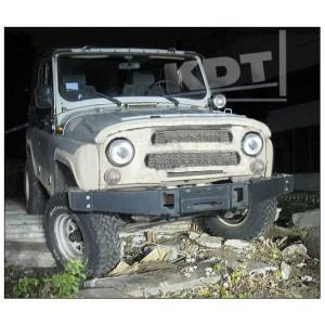 KDT силовой передний бампер без кенгурина Спорт на УАЗ Hunter