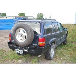 Тамерлан силовой бампер Jeep Grand Cherokee задний
