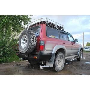 Тамерлан силовой бампер на Toyota Land Cruiser 80 задний