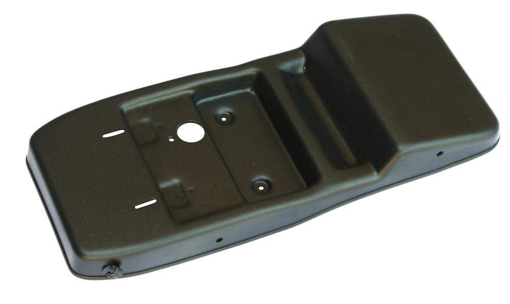 Консоль потолочная для установки р/c Great Wall Hover H3-H5 без выреза под р/c, черная