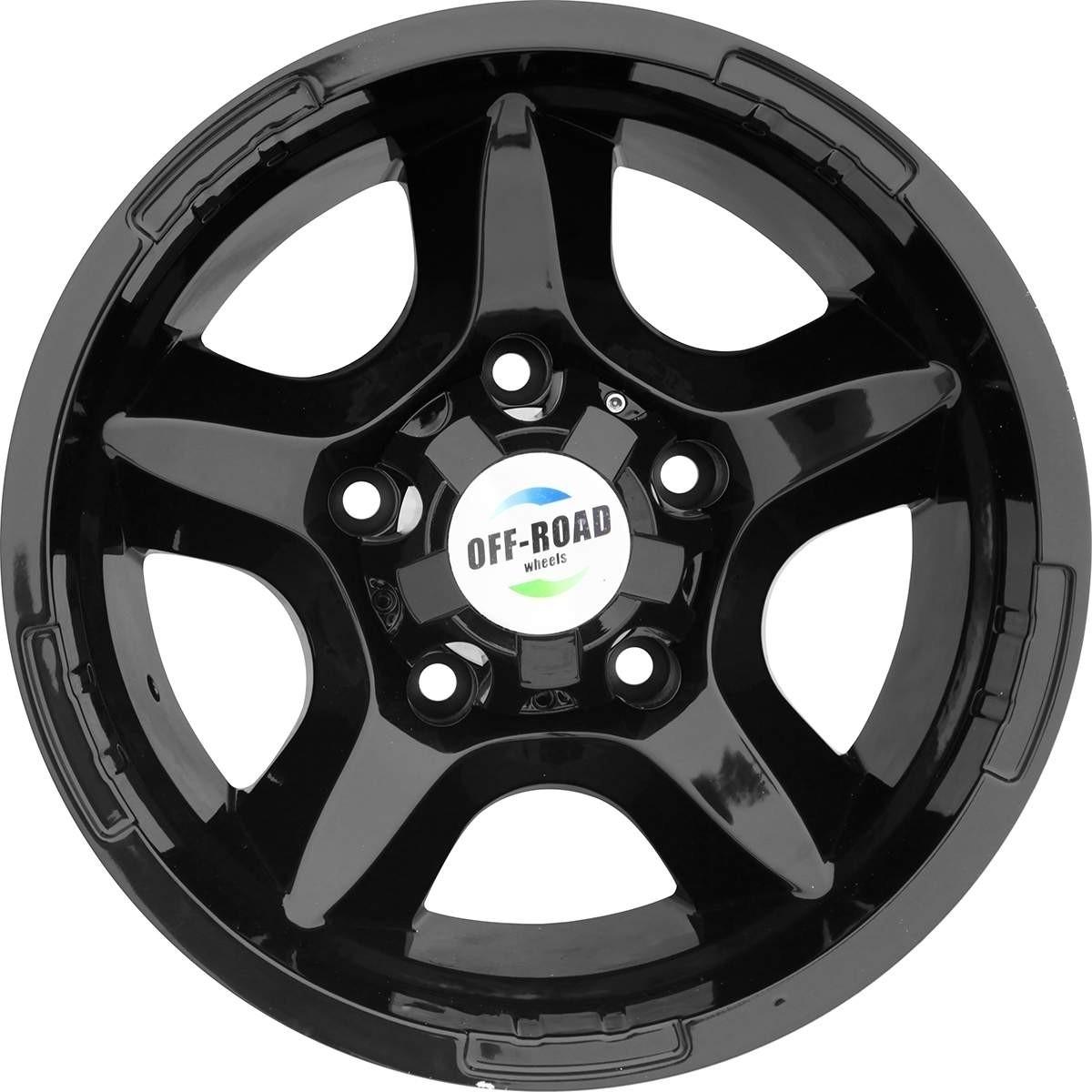 Диск УАЗ литой черный 5x139,7 8xR15 d110 ET-27
