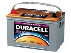 Аккумулятор гелевый Duracell, полярность прямая, 80 А·ч