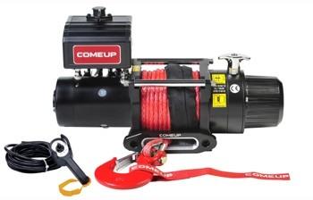ComeUp Cap 9.0s электрическая лебедка 12V 4.1т (термодатчик, кевларовый трос)